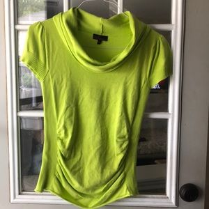 Lime green crew neck sweater